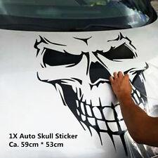Skull Aufkleber Totenkopf Schädel Sticker Halloween Punisher Autoaufkleber Neu