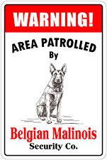 "Warning Mr Burglar If The Dog Doesn/'t. 8/""x12/"" Aluminum Metal Plate Parking Sign"