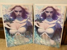 Marvel Comics #1000 Stanley Artgerm Lau Trade + Virgin Variant Cover Set IN HAND