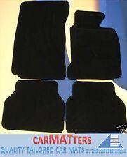 BMW X1 E84 2010-2015 QUALITY BLACK CARPET TAILORED CAR FLOOR MATS + 4 x PADS
