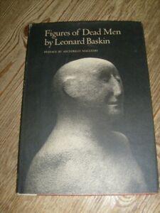 Figures of Dead Men by Leonard Baskin 1968 Photographic Study Sculptures Book