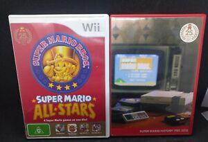 Super Mario Bros. All Stars 25th Anniversary + Soundtrack Nintendo Wii Classics