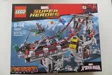 New Sealed Lego 76057 SpiderMan Web Warriors Ultimate Bridge Battle Super Heroes