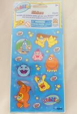 Webkinz STICKERS 2 Sheets BLUE~NEW Factory Sealed With UNUSED Code~FREE $0 SHIP