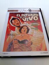 """DVD """"EL DIFUNTO ES UN VIVO"""" COMO NUEVO PACO MARTINEZ SORIA JUAN LLADO SAZA MARY"""