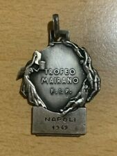Napoli Basketball Tournament 1949 Mairano F.I.P. Trophy Silver 0.800 Medal