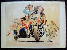 New ListingRobert Tanenbaum Original Movie Art Hot Stuff Suzanne Pleshette Jerry Reed Ooak
