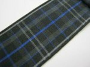 ROYAL Pride of Scotland Tartan ribbon various widths - 1 metre & ODDMENTS