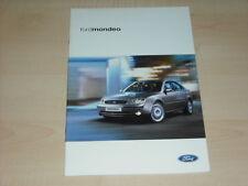 36860) Ford Mondeo Polen Prospekt 2002