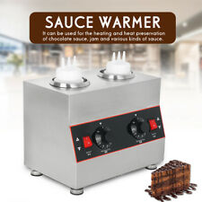 More details for 2bottle electric sauce warmer dispenser caramel cheese chocolate melting machine