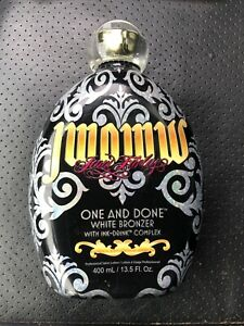 JWOWW one and done WHITE BRONZER INK-drink DHA tanning lotion