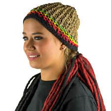 Gorro de Cáñamo Häckel Gorro Jamaica Rasta Hippie Dreads Fair Sostenible