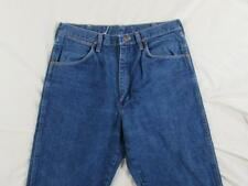USA Made Wrangler 31MWZDN Faded Denim Jeans Tag 34x34 Measure 32x33 Cowboy