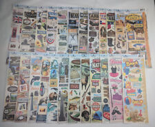 24 Set -Paper House Cardstock Stickers 411 Stickers Total Scrapbooking Travel b2
