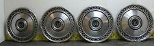 """OEM Set of 4 15"""" Black Hub Caps Wheel Covers E3AZ1137D 1975-79 Mercury (2498)"""