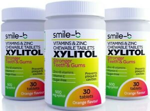 Gum Disease Treatment: 100% XYLITOL Pastilles - With Multivitamin & Zinc