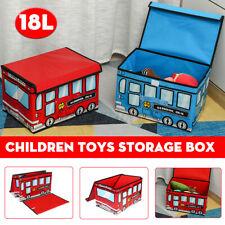 Red / Blue Children Kids Bedding Toys Organizer Storage Box Case Tidy Chest