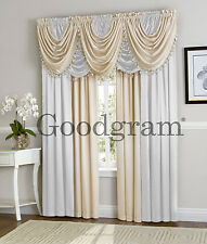 Ultra Luxurious Hyatt Window Curtain Treatments - Assorted Colors & Sizes
