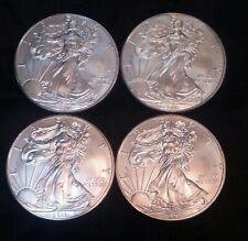 2011 American Eagle Silver Dollar  999 /1000  Lot of 4  Coins One Oz. Each.