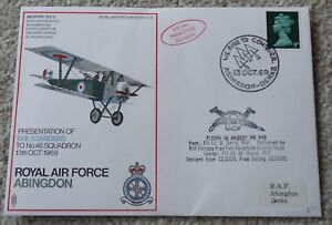 FDC flown covers of RAF Stations, 38 covers in total, mint, rare collection