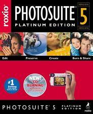 ROXIO PhotoSuite 5 - Photo Editor PC (NEW)