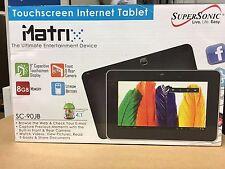 """Supersonic SC-90JB 9"""" 8GB, Wi-Fi tablet Black New in box"""