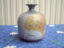 Italica Ars  Art Pottery Vase Hand Painted by Lazzaro Italy