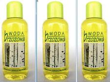 Birch water for hair SET 3 x 125 ml oily hair Wasser Birch Woda brzozowa