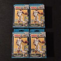 2019-20 Panini NBA Hoops Premium Stock Hanger Box Lot Of 4 Sealed