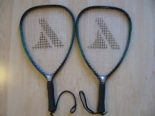 A Set of Pro Kennex Wide Body Design Rock 105 Racquetball Racquets 3-7/8 Sl