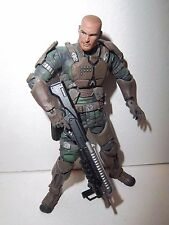 Halo Wars Sgt. Forge UNSC McFarlane Action Figure 100% Complete w/ Weapons