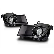 For 2004-2005 Mitsubishi Lancer Clear Lens Chrome Housing Fog Lights Lamps