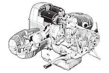 1969 BMW /5 MOTORCYCLE ENGINE CUTAWAY POSTER PRINT 24x36 HI RES