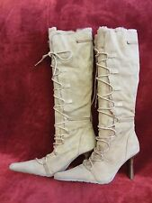 Beige High Fur-Lined ALDO Boots size 37 EUR 7 US