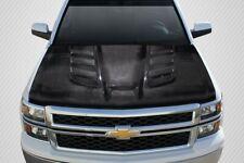 Chevrolet Silverado 07 13 Carbon Creations Carbon Fiber Viper Look Hood Fits 2009 Silverado 1500