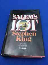 Salem's Lot by Stephen King Rare Book Club Hardcover Edition