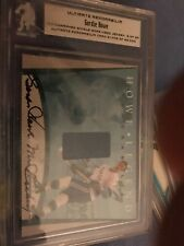2000 BAP Ultimate Howe Jersey Auto Patch 8/20 21,448/25,000 RARE ITG In the Game