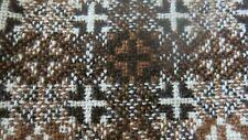 Vintage WELSH WOOL Brown Short A-Line Skirt