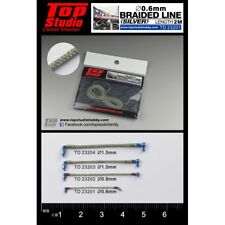 Top Studio 0.6mm Braided Line (silver)