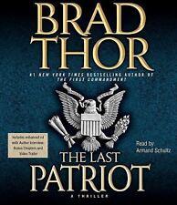The Last Patriot by Brad Thor (2010, CD, Abridged)