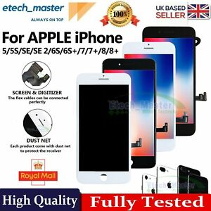 For iPhone 8 7 6S 6 Plus 5S SE 2 Screen Replacement LCD Touch Digitizer Display