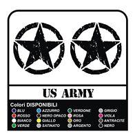 ADESIVI STELLA MILITARE CASCO US ARMY per HARLEY DAVIDSON moto custom