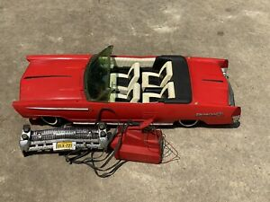 """1964 Reading Deluxe Crusader 101 30"""" Long Red Convertible Car Barbie"""