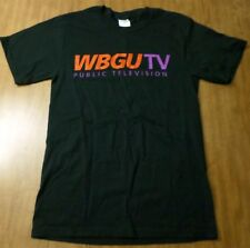 WBGU-TV small Public Broadcasting Service logo PBS Bowling Green T shirt Ohio