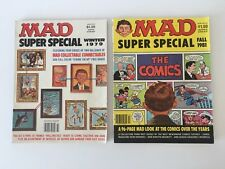 Mad Magazine Super Special Lot of 2 (Nos. 29, 36) FN/VF with No 29 Insert Intact