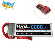 HRB 11.1V 6000mAh 3S LiPo Battery 50C 100C Deans Plug for RC Airplane Plane FPV