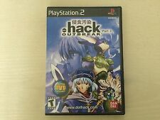 Replacement Case (NO GAME!) .Hack//Outbreak Part 3 - Sony Playstation 2