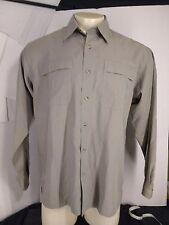 Columbia XCO Men's shirt S Long sleeve 78% Modal EUC casual fishing outdoor t004