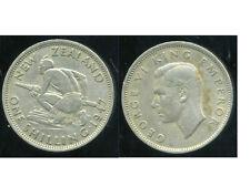NOUVELLE ZELANDE 1 one shilling  1947