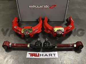 Skunk2 Pro FRONT & Truhart REAR Camber Kit Combo For 04-08 Acura TL